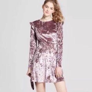Mossimo Velvet Skater dress
